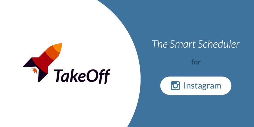 TakeOff : pianificare i post su Instagram posti a intervalli regolari durante il giorno