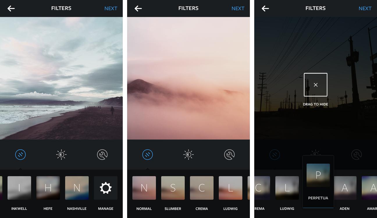 Instagram aggiunge cinque nuovi filtri, caricamento dei video in Slow-Motion e tanto altro