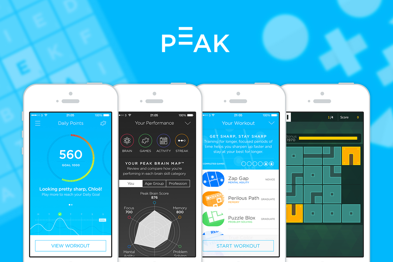 Peak, il gioco allena-mente, arriva su Android