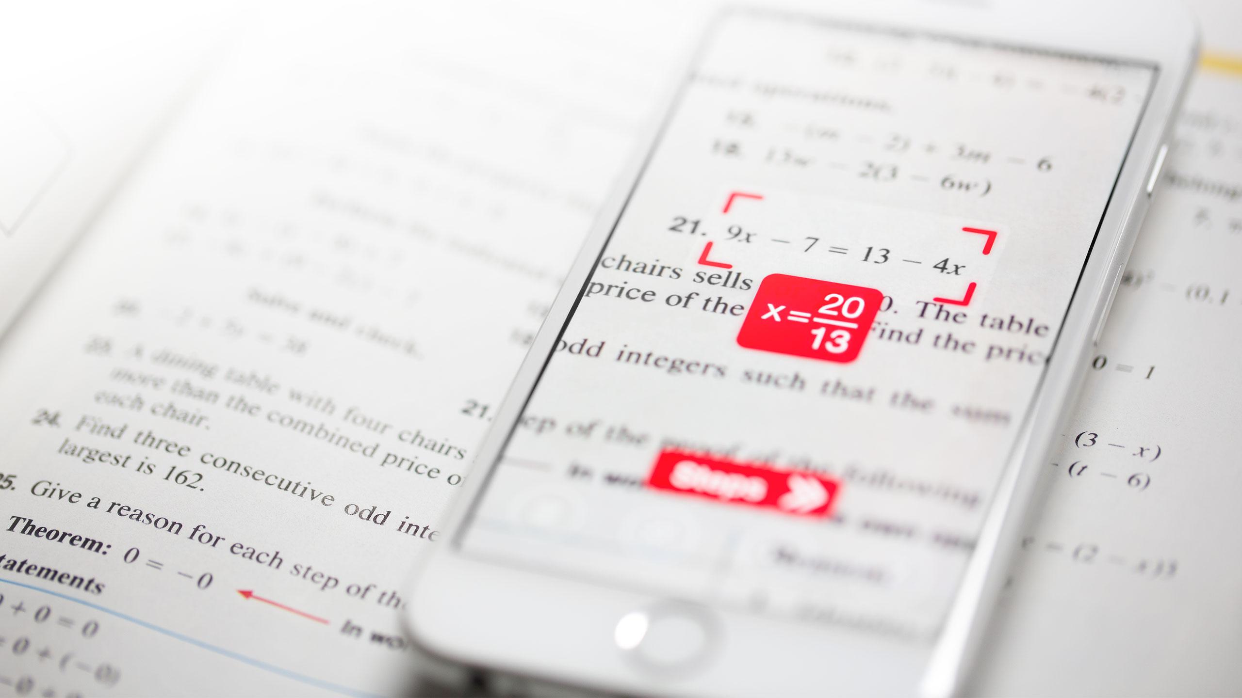 PhotoMath porta la sua impressionante app per la risoluzione delle equazioni matematiche su Android
