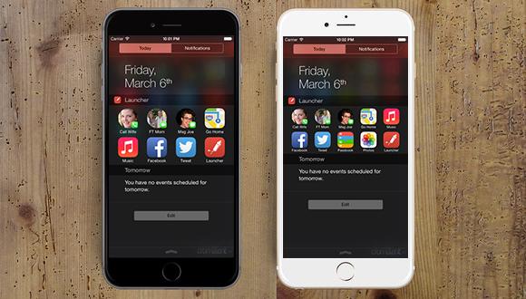Avviare applicazioni e chiamate dal Centro Notifiche dell'iPhone
