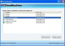 Come aprire Time Machine in Windows