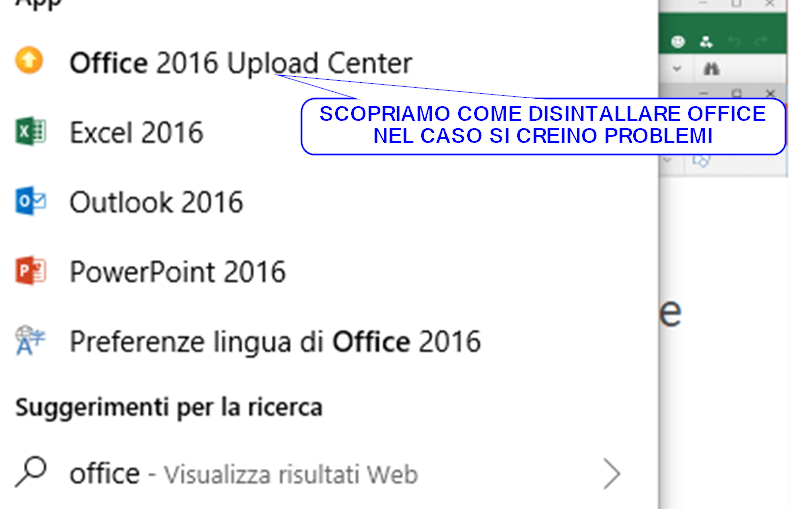 Come disinstallare Office