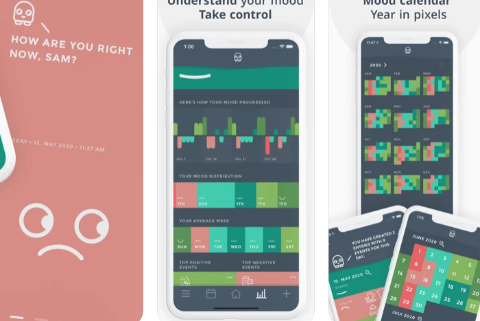 Moodistory Mood Tracker, Diary on the AppStore